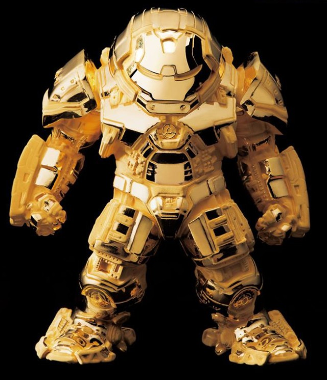 Beast Kingdom SDCC 2016 Exclusive 24K Gold Hulkbuster Iron Man Figure
