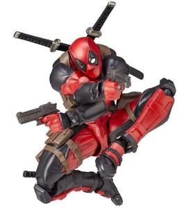 Deadpool Revoltech 6 Inch Figure Kaiyodo Shooting Guns