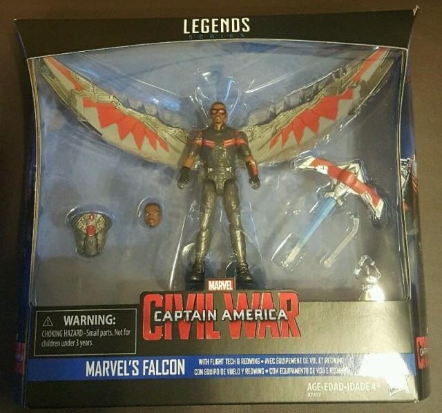 Falcon Marvel Legends Captain America Civil War Hasbro Figure
