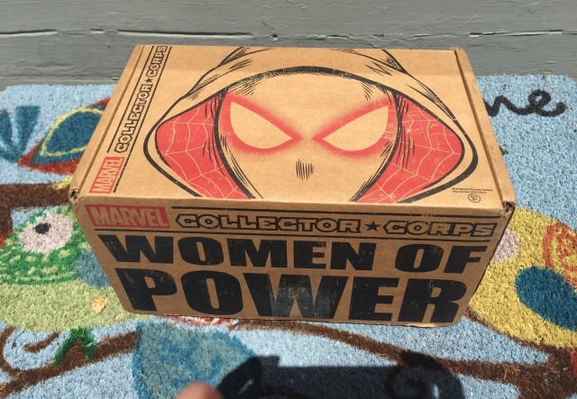 Funko Marvel Collector Corps Women of Power Box Review Spoilers