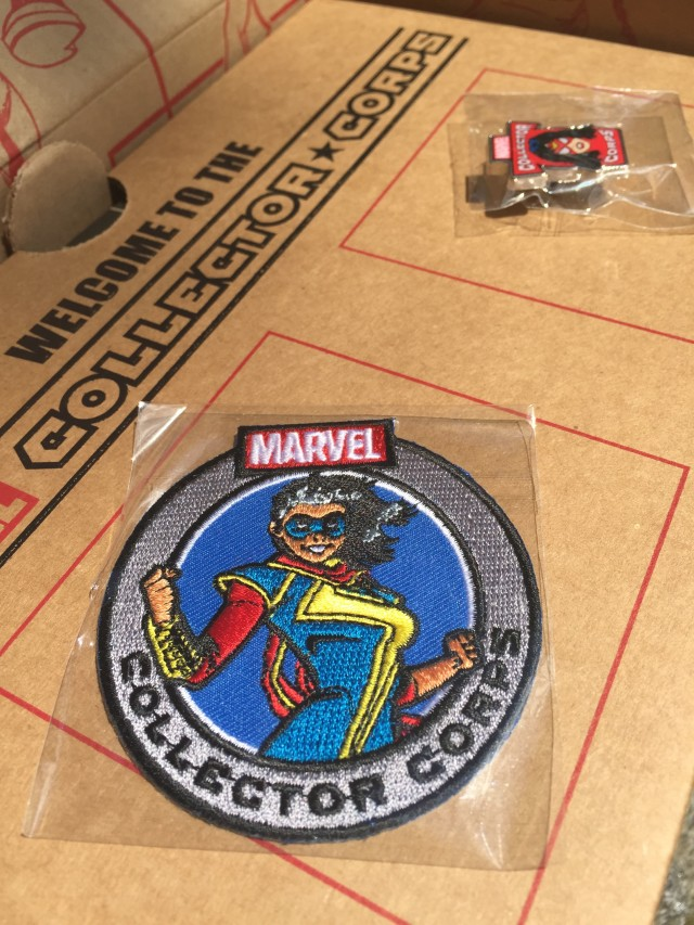 Funko Ms. Marvel Patch Collector Corps
