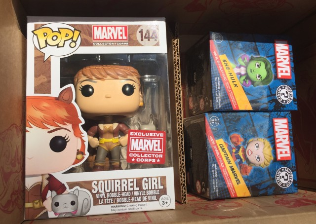 Women of Power Spoilers POP Vinyl Mystery Minis