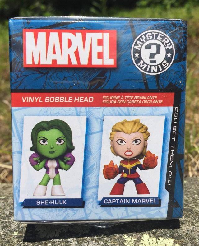 She-Hulk Mystery Minis Box Captain Marvel