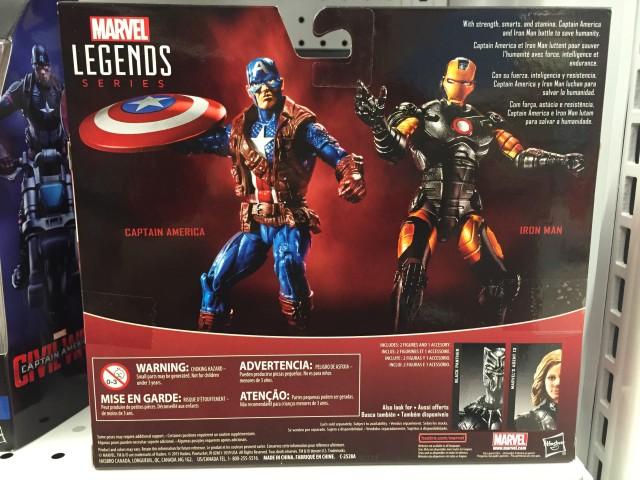 "Marvel Legends 3.75"" Captain America & Iron Man TRU Exclusive Set"