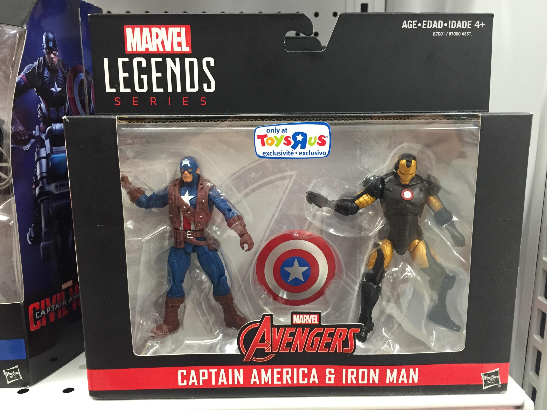 Marvel Toys R Us : Marvel legends civil war quot packs released agent
