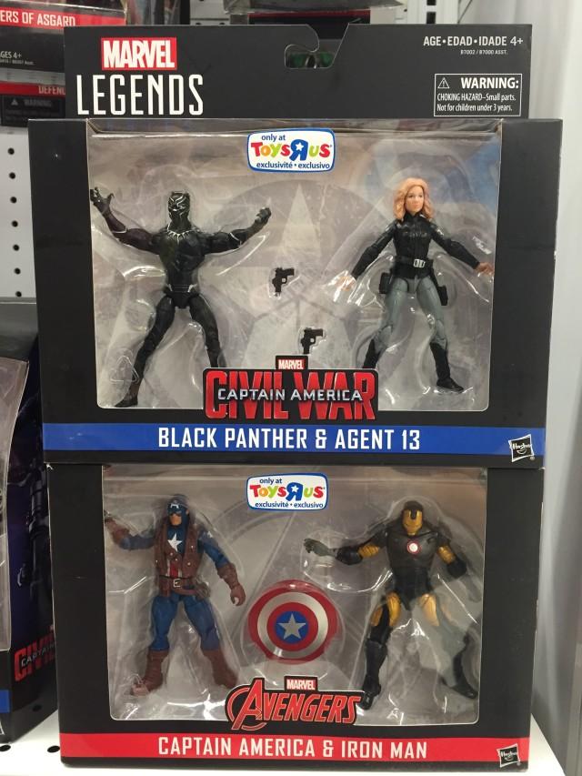 Marvel Legends Civil War Exclusive 2-Packs Released
