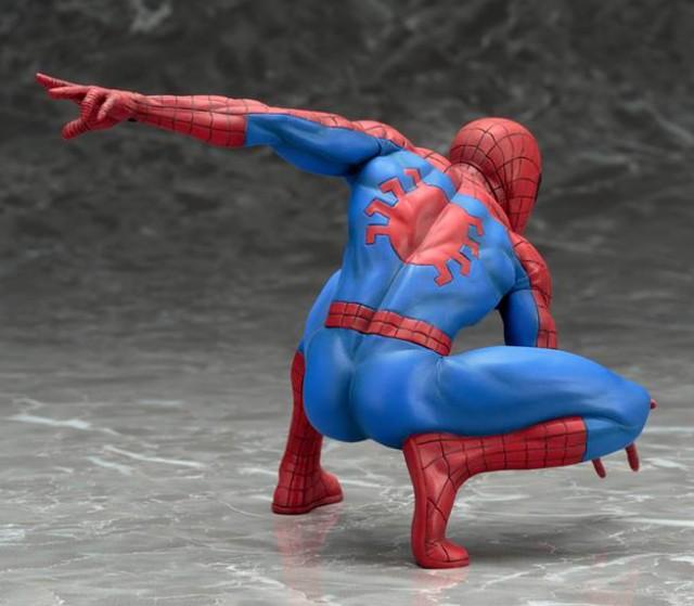 Kotobukiya Amazing Spider-Man ARTFX+ Statue Back
