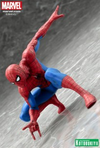 Kotobukiya Spider-Man ARTFX+ Statue Revealed
