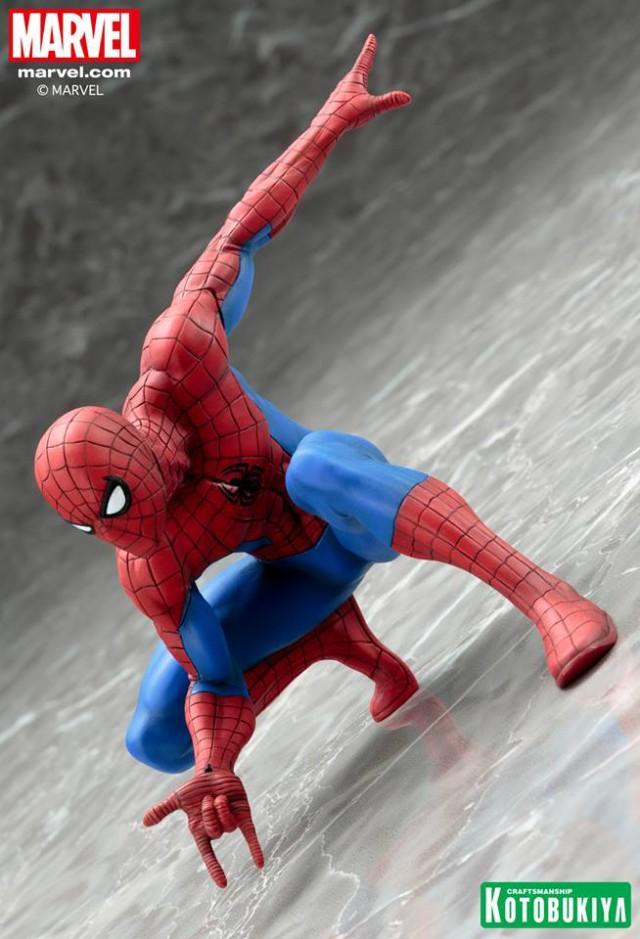 Kotobukiya Spider-Man ARTFX+ Statue Revealed