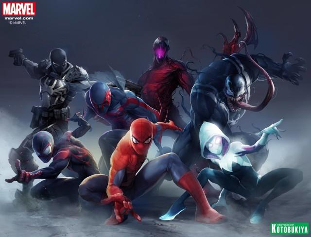 Kotobukiya Spider-Man ARTFX+ Statues Characters