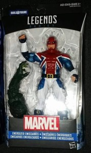Marvel Legends Captain Britain Figure
