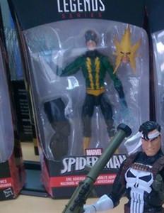 Marvel Legends Electro Figure Space Venom Series
