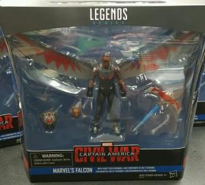Marvel Legends Falcon Civil War Movie 4 Inch Figure in Box