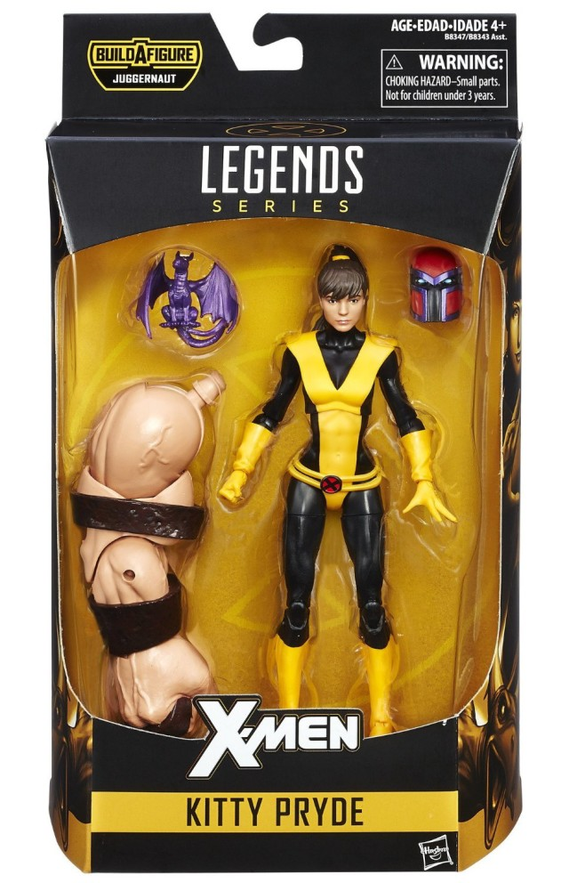 Marvel Legends Kitty Pryde Figure Packaged with Onslaught Head