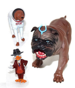 Marvel Legends SDCC 2016 Exclusives Lockjaw Howard the Duck Cosmo