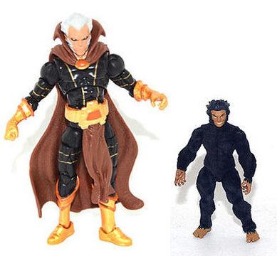 Marvel Legends The Collector and Moonboy SDCC 2016 Figures