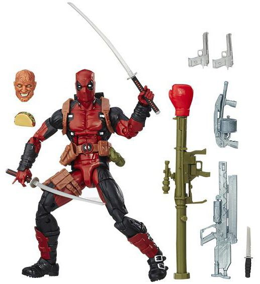 Marvel Legends X-Men Deadpool Figure and Accessories