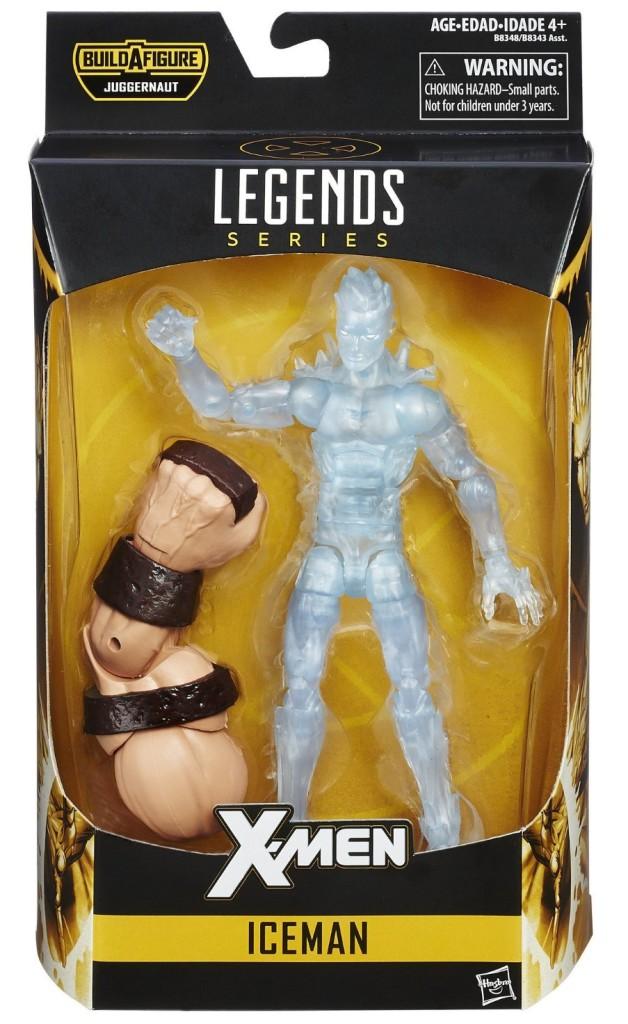 Marvel Legends X-Men Iceman Figure Packaged