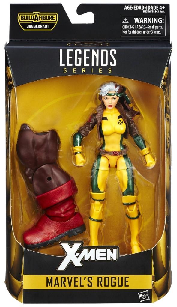 Marvel Legends X-Men Rogue Figure Packaged