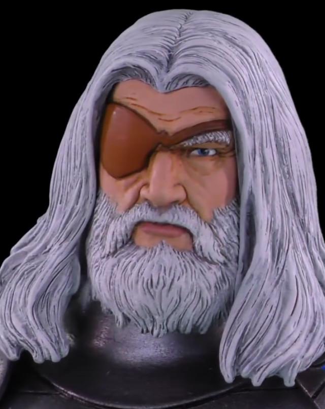 Marvel Select Odin Head Close-Up