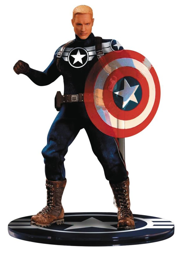 ONE 12 Collective Commander Steve Rogers Captain America Figure Exclusive
