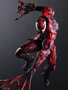 Play Arts Kai Venom Limited Color Version Carnage Figure
