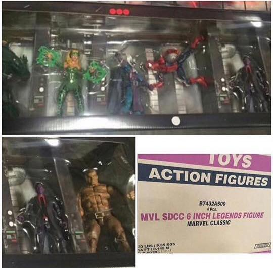 SDCC 2016 Exclusive Marvel Legends 6 Inch Figures Set