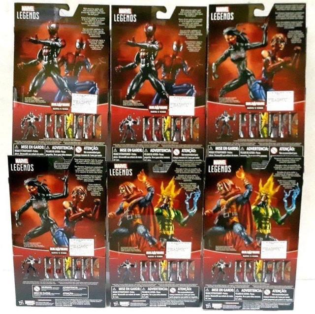Spider-Man Legends Space Venom Series Back of Packaging