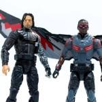 Marvel Legends Civil War Winter Soldier & Falcon 6″ Photos!