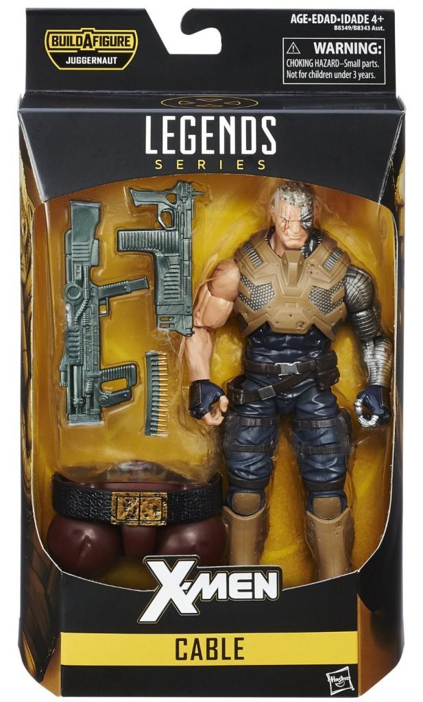 X-Men Legends Cable Figure Packaged