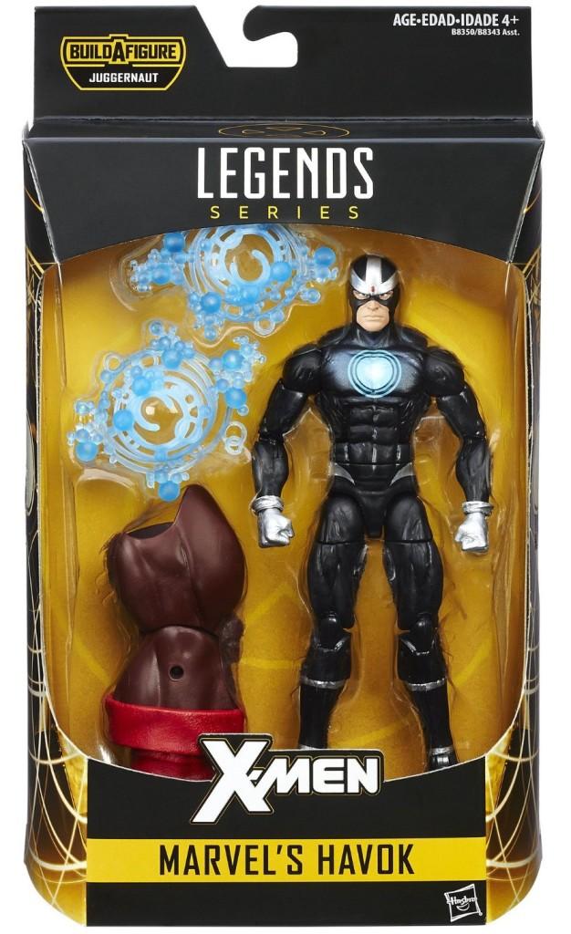 X-Men Marvel Legends Havok Figure Packaged