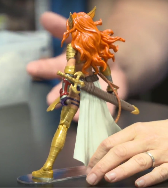 2017 Marvel Legends Angela Figure Back