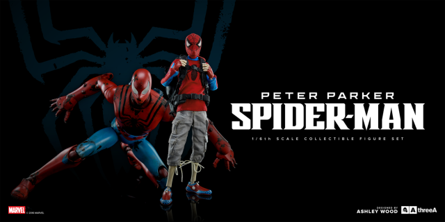 3A Spider-Man Classic Edition Figures Set