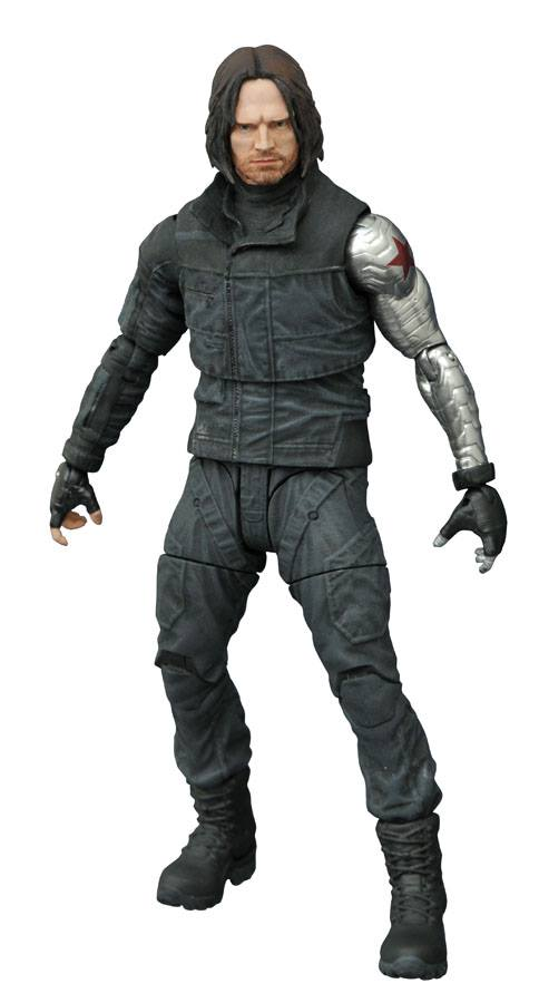 Captain America Civil War Winter Soldier Marvel Select Figure