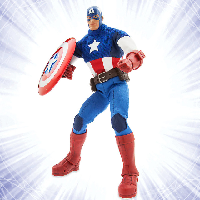Captain America Marvel Ultimate Series Disney Store Exclusive Figure