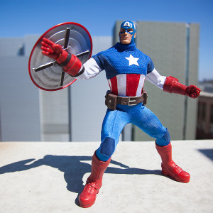 Disney Store Exclusive Captain America Ultimate Series Figure