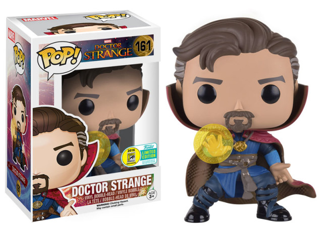 Funko Comic-Con Exclusive Doctor Strange with Rune POP Vinyl