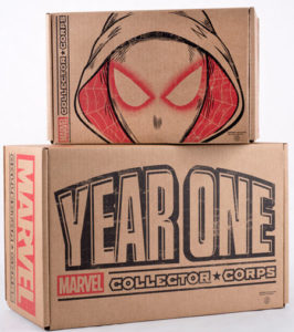 Funko Marvel Collector Corps Year One Super Box