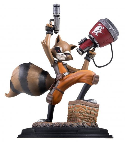 Gentle Giant SDCC 2016 Exclusive Rocket Raccoon Animated Statue