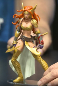 Guardians of the Galaxy Marvel Legends 2017 Angela Figure