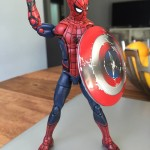 Marvel Legends Civil War Spider-Man 3-Pack In-Hand Photos