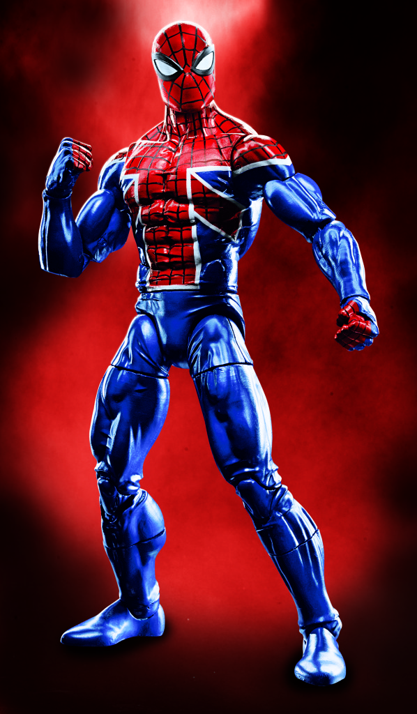 Hasbro Marvel Legends Spider UK Figure