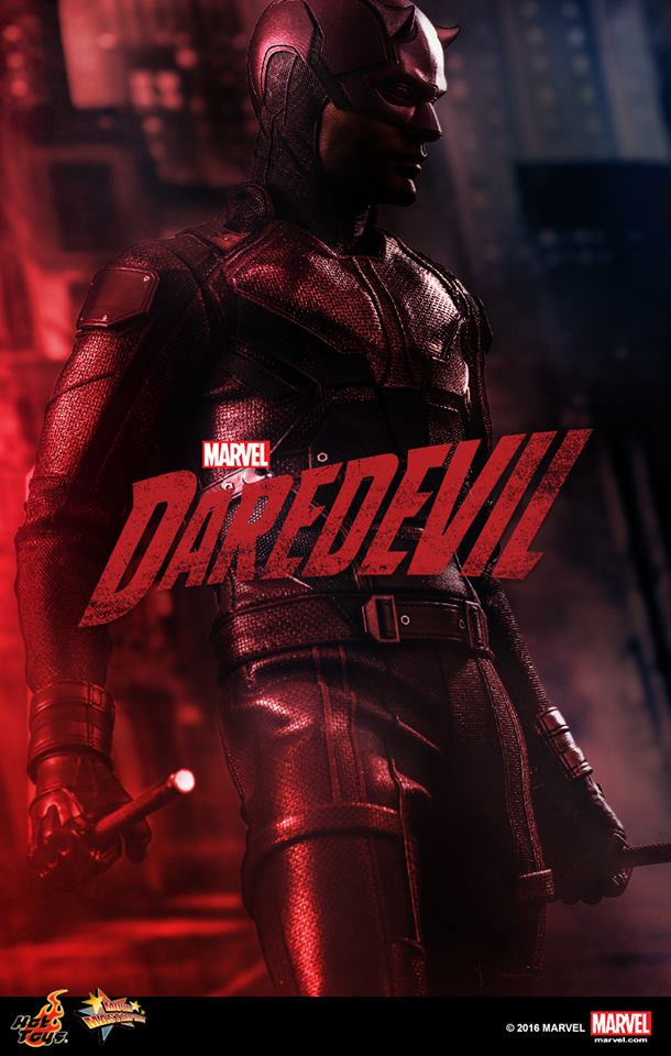 Hot Toys Daredevil Sixth Scale Figure SDCC 2016 Preview Night