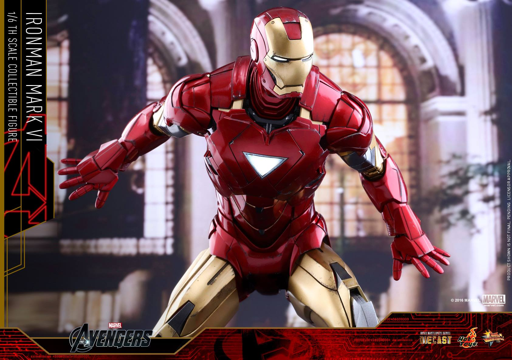 hot toys exclusive diecast iron man mark vi up for order