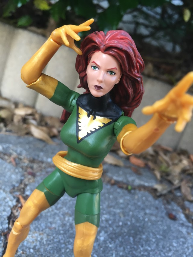 Marvel Legends 2016 Phoenix Jean Grey Figure Using Psychic Powers