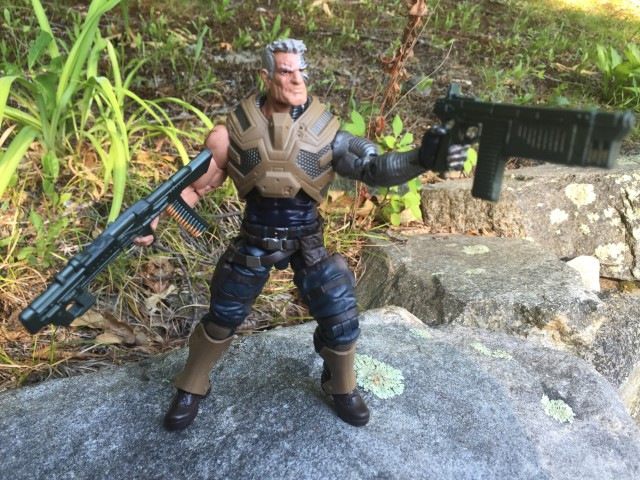 Cable Marvel Legends X-Men Figure Guns