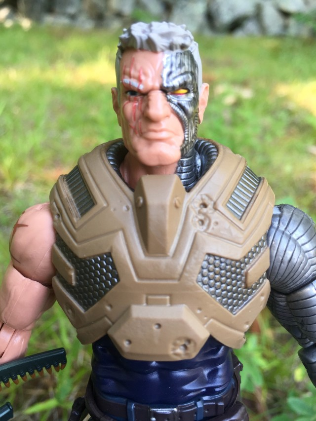 "Close-Up of Marvel Legends X-Men Cable 6"" Figure"