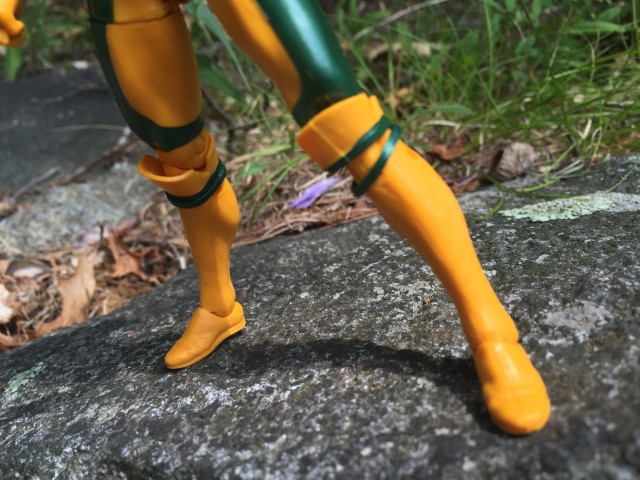 Boot Extension Kneepads on Marvel Legends Rogue Figure