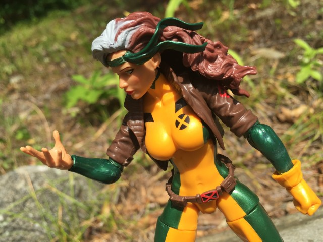 Rogue X-Men Marvel Legends 2016 Figure Ungloved Hand