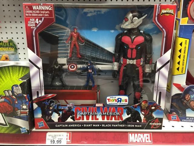Marvel Toys R Us : Marvel titan hero giant man civil war set released